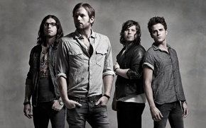 Обои Kings of Leon, Caleb Followill, альтернативный рок, alternative rock, музыка