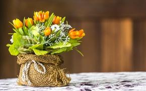 Картинка Цветы, Тюльпаны, искусственные цветы, Букеты