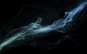 Картинка холод, дым, Абстракция