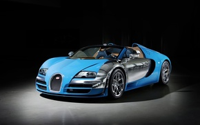 Обои bugatti veyron, grand sport, vitesse, auto