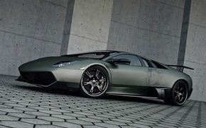 Картинка Wheelsandmore, Lamborghini, Murcielago, тюнинг, LP720-4, SuperVeloce