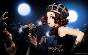Картинка девушка, аниме, знаменитость, art, Range Murata