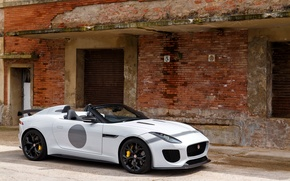 Обои Jaguar, ягуар, UK-spec, F-Type, 2014, Project 7
