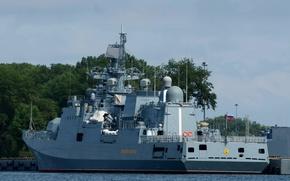 "Картинка корабль, фрегат, Балтийск, сторожевой, ""Адмирал Макаров"""