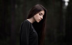 Картинка девушка, боке, Maxim Guselnikov, soulportrait, Johnny Miller, Джонни Миллер