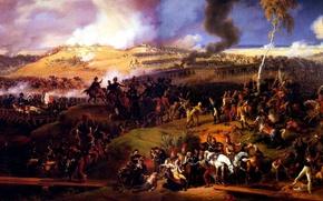 Обои Battle of Moscow, картина, Louis Lejeune, 7th September 1812