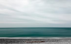 Картинка небо, берег, горизонт