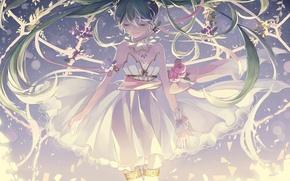 Картинка vocaloid, anime, miku hatsune