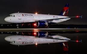 Картинка авиация, самолёт, аэродром, A-319