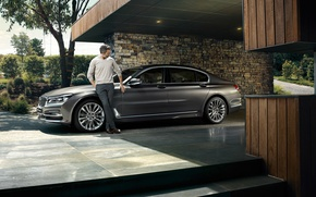Обои G12, седан, BMW, бмв, 7-Series