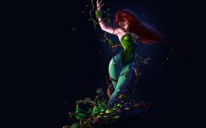 Картинка фон, растения, ядовитый плющ, DC Comics, Poison, Pamela Lillian Isley, Памела Лилиан Айсли