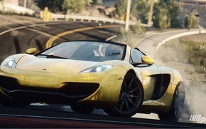Картинка Mercedes, Need for Speed, nfs, 2013, Rivals, NFSR, нфс, MP412C Spider