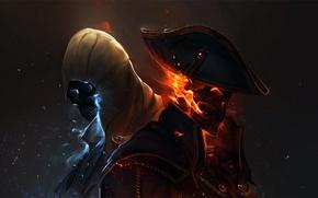 Картинка Assassins, creed 3, конор, хейтэм, ubisoft, анимус