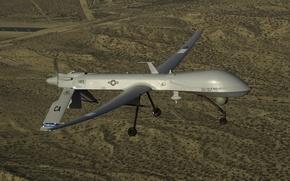 Картинка Predator, многоцелевой, беспилотный, аппарат, MQ-1, летательный