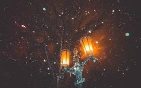 Картинка фонарь, россия, январь, саратов