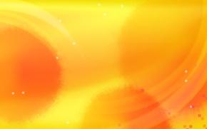 Картинка желтый, минимализм, вектор, пятна, Фон