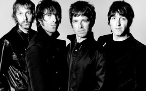 Картинка группа, rock, Oasis, Noel Gallagher, Liam Gallagher