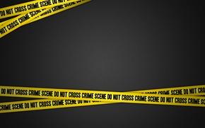 Картинка полицейская лента, место приступления, crime scene