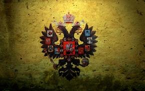 Картинка герб, Russian Empire, двуглавый орел, Российская Империя