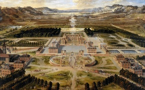 Картинка картина, живопись, painting, palace of Versailles, Pierre Patel