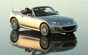 Обои отражение, Mazda, МАЗДА