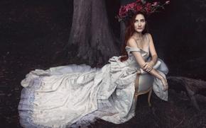 Картинка платье, венок, Bernadette Lemon