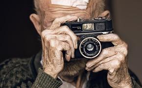 Картинка фон, человек, камера