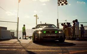 Картинка Mustang, Ford, GT500, Drift, Monster Energy, Tuning, Falken, Sportcar