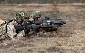 Картинка оружие, солдаты, Latvian Army