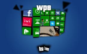 Картинка windows, windows phone8, Lumia, wp8, ruwp8