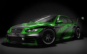 Картинка BMW, GTR, Black Studio