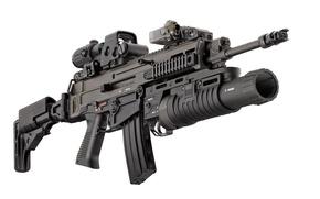 Картинка wallpaper, gun, weapon, evo, rifle, Czech, EOTech, 5.56x45, assault rifle, Bren, CZ 805, carabine, 5.56x …