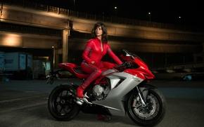 Обои Penelope Cruz, Пенелопа Крус, Valentina, Zoolander 2, Образцовый самец 2, мотоцикл, комедия
