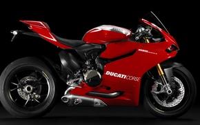 Картинка Ducati, race, beauty, racing, superbike, 1199, Panigale, italian, L-twin