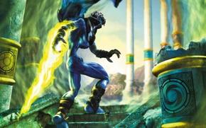Картинка игра, меч, Raziel, Legacy of kain, Разиэль, лучшая игра всех времён, Разиель, наследие кайна, динамичная …