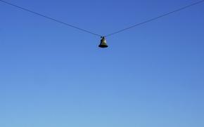 Картинка sky, wire, bell