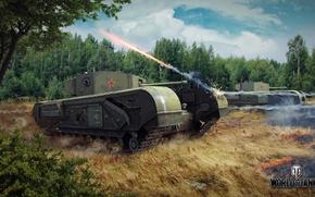 Картинка танк, танки, WoT, Мир танков, tank, World of Tanks, tanks, Черчилль, Wargaming.Net, BigWorld