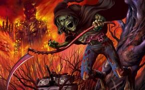 Картинка Эдди, Iron Maiden, Eddie, heavy metal. metal