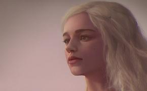 Картинка Girl, Art, Game of Thrones, Daenerys Targaryen, Khaleesi