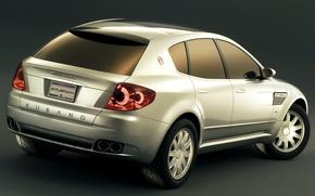 Картинка Concept, дизайн, Maserati, 2003, ItalDesign, Kubang GT Wagon