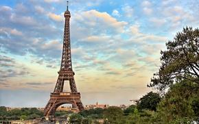 Картинка франция, paris, эйфелева башня, париж, france, город