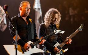 Картинка музыка, сцена, music, концерт, гитарист, микрофон, Rock, музыкант, электрогитара, Рок, певец, Metallica, поэт, композитор, трэш-метал, …