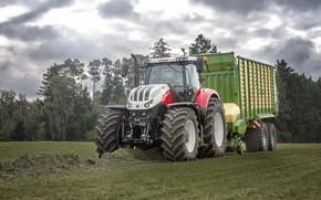 Картинка wallpaper, tractor, agriculture, farming, steyr