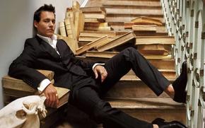 Картинка Johnny Depp, актёр, джони депп, красавец - мужчина