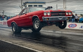 Обои chevrolet, el camino, ss, muscle car, мускул кар