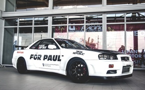 Картинка Nissan, GT-R, Skyline, FOR, PAUL