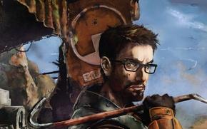 Картинка half-life, freeman, gordon