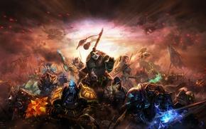 Картинка оружие, Mists of Pandaria, персонажи, арт, Liang xing, World of Warcraft