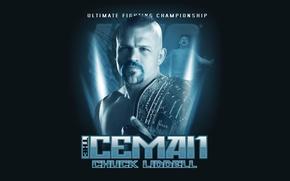 Картинка боец, fighter, легенда, mma, ufc, смешанные боевые искусства, чемпионский пояс, the iceman, Chuck Liddell