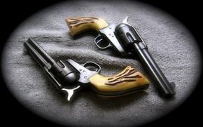 Картинка револьвер, 2 штуки, Revolver, Colt Peacemaker